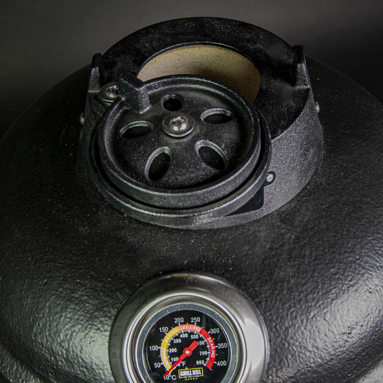kamado bbq M grill bill pro 16 inch top vent