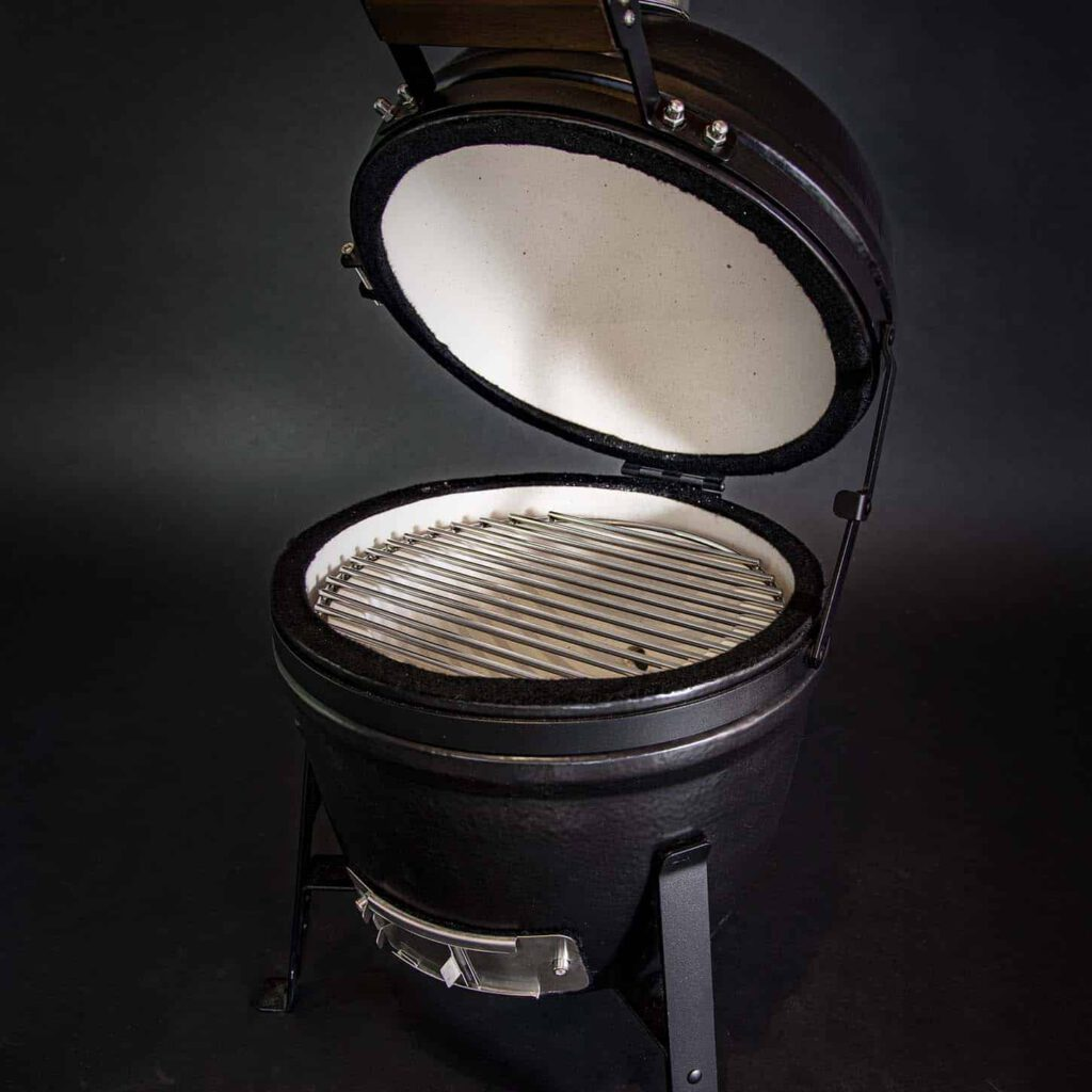 kamado bbq S grill bill pro 13 inch 2 rooster