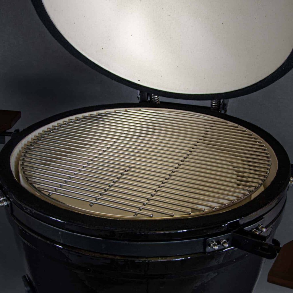 kamado bbq large grill bill classic 21 inch close grill rooster