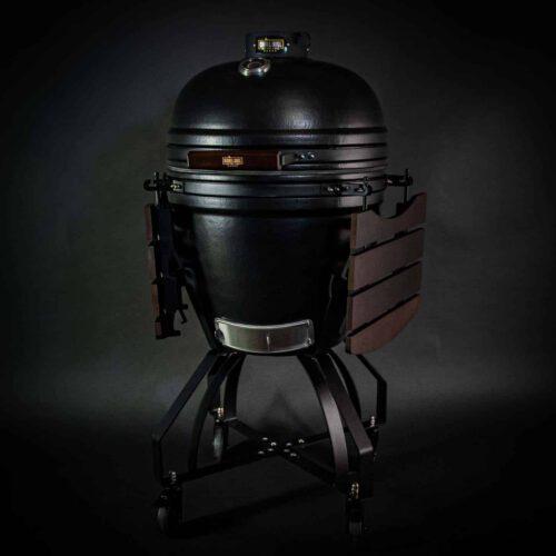 kamado bbq large grill bill pro 21 inch side down