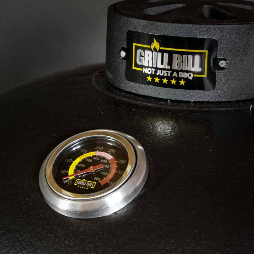kamado bbq large grill bill pro thermometer