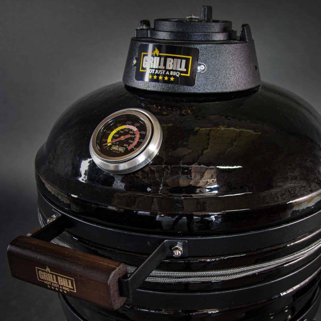 kamado bbq m grill bill classic 16 inch close