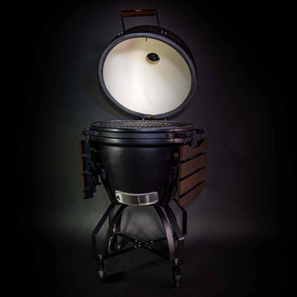 kamado bbq xl grill bill pro 23 inch open