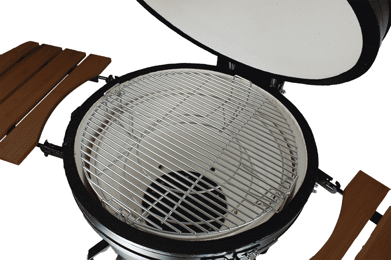 rvs rooster kamado bbq inch