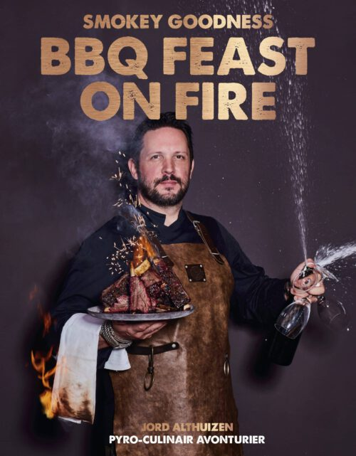 9789021578644 Smokey Goodness BBQ Feast on Fire - cover