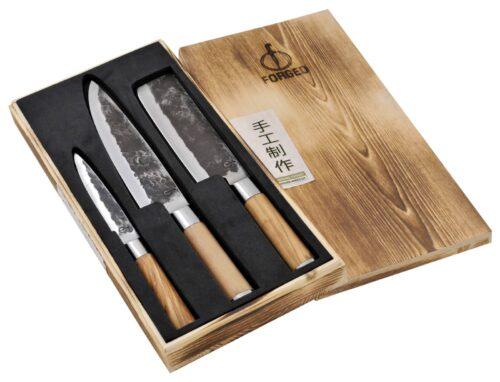 Olive Forged 3-delige set pr verp gr